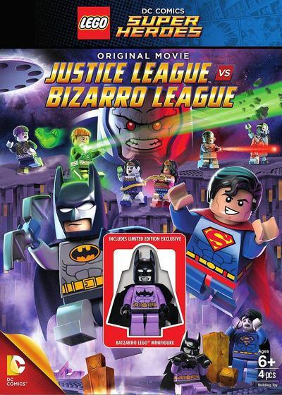 乐高DC超级英雄:正义联盟大战异魔联盟海报