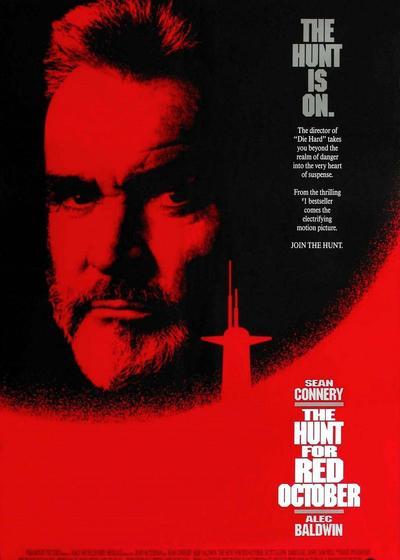 猎杀红色十月海报