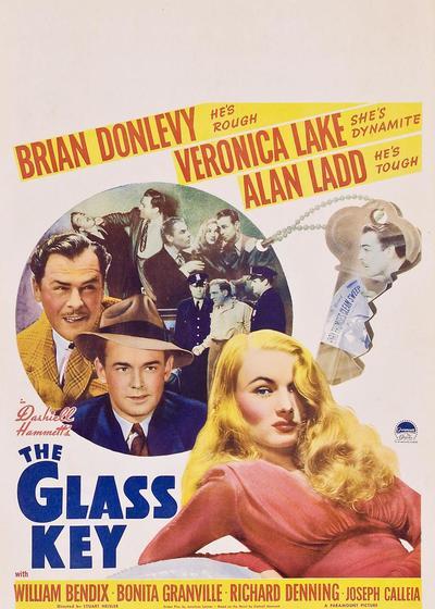 玻璃钥匙海报