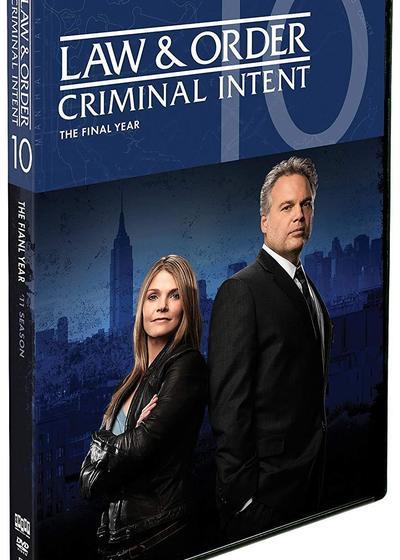 法律与秩序:犯罪倾向 第十季海报