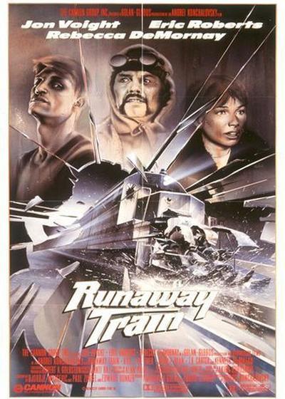 暴走列车海报