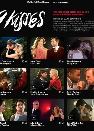 九个吻海报