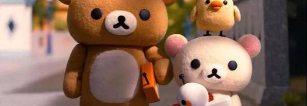 轻松小熊和小薰