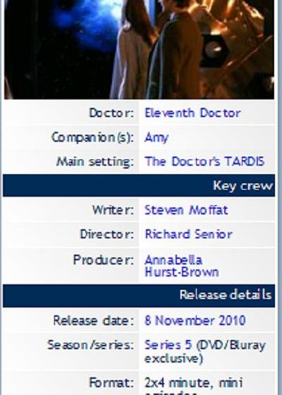 Doctor Who Meanwhile in the TARDIS海报