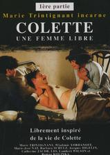 科莱特,一个自由的女子海报