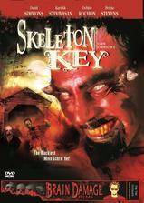 骷髅钥匙海报
