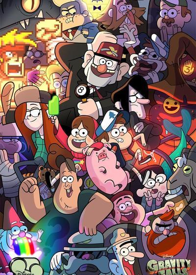 怪诞小镇 第二季海报