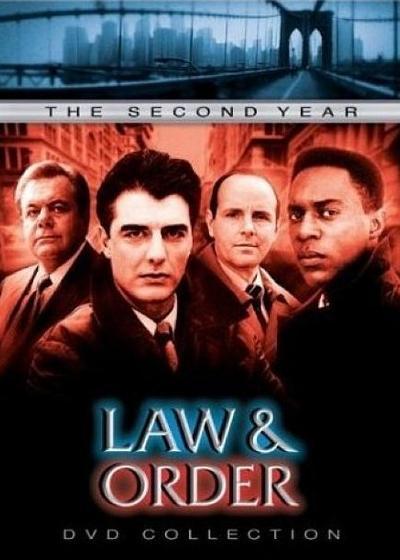 法律与秩序 第二季海报