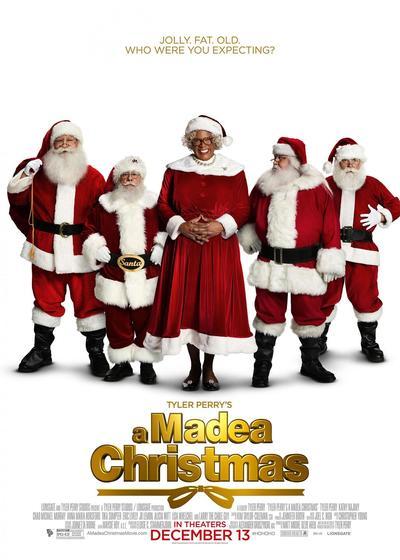 黑疯婆娘的圣诞节海报