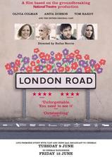 伦敦路海报