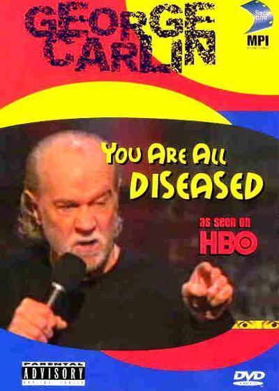 乔治·卡林:你们都有病海报