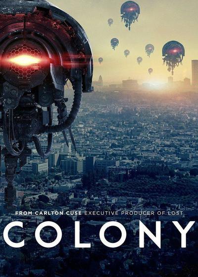 殖民地 第二季海报