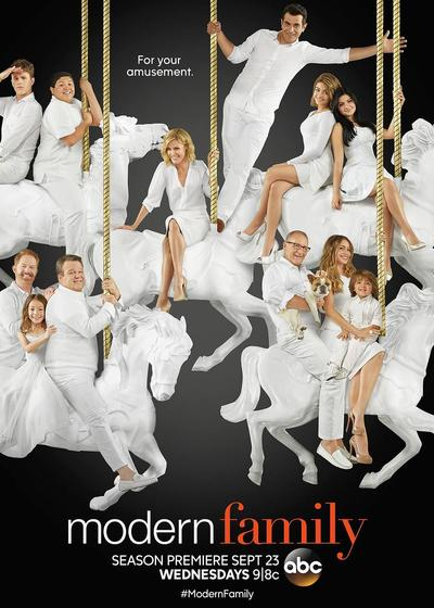 摩登家庭 第七季海报