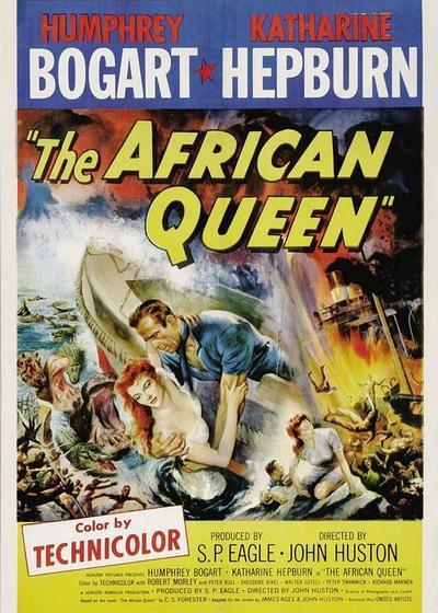 非洲女王号海报