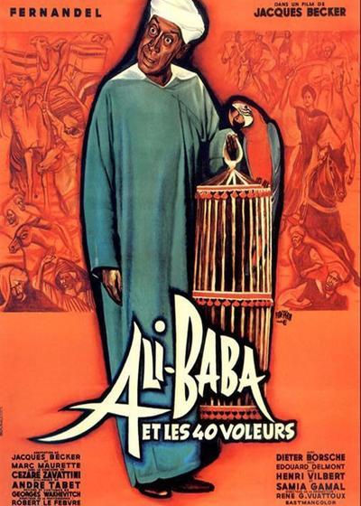 阿里巴巴和四十大盗海报