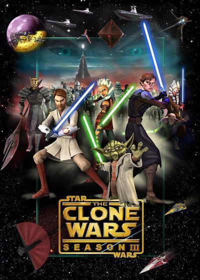 星球大战:克隆人战争 第三季海报