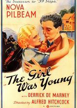 年轻姑娘海报