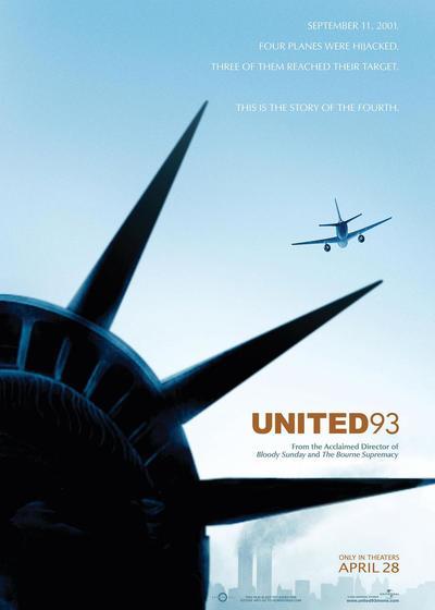 93航班海报