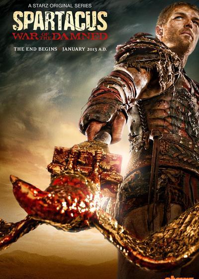 斯巴达克斯:诅咒者之战 第三季海报
