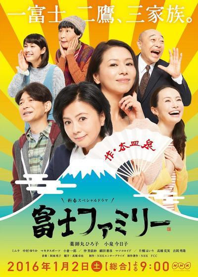 富士家族海报