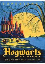 当哈利离别霍格沃茨海报