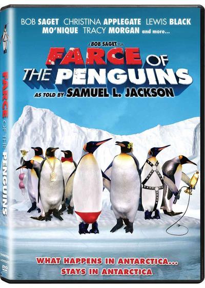 神奇的企鹅海报