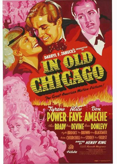 芝加哥大火记海报