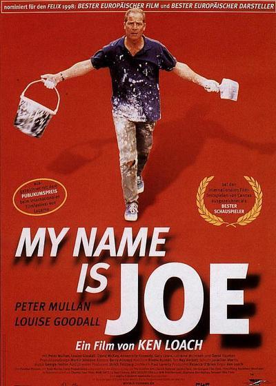 我的名字是乔海报