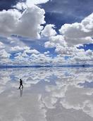 南美玻利维亚乌尤尼盐原纪行