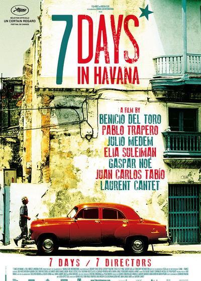在哈瓦那的一周海报