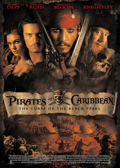 加勒比海盗海报
