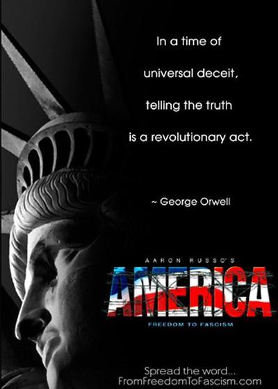 美国:从自由到法西斯主义海报