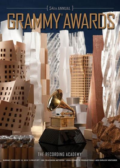 第54届格莱美奖颁奖典礼海报