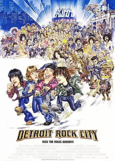 摇滚城市底特律海报