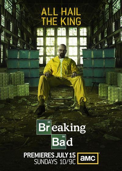 绝命毒师  第五季海报