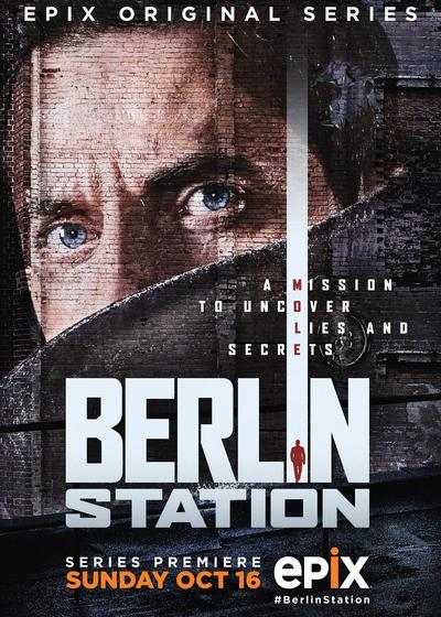 柏林情报站 第一季海报