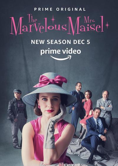 了不起的麦瑟尔夫人 第二季海报