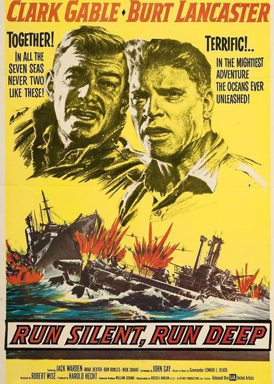 太平洋潜艇战海报