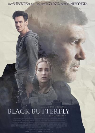 黑蝴蝶海报
