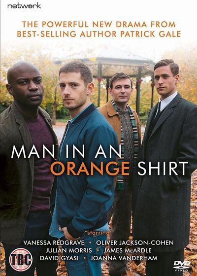 橘衫男子海报