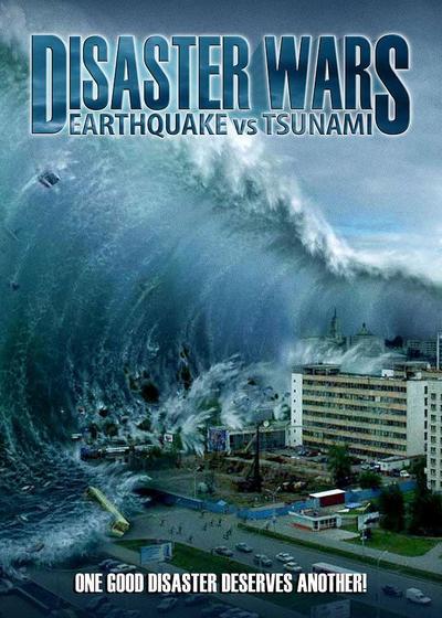 灾难的战争:地震与海啸海报