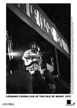 莱昂纳德·科恩:1970怀特岛音乐节演出实录海报