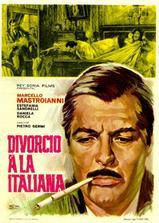 意大利式离婚海报