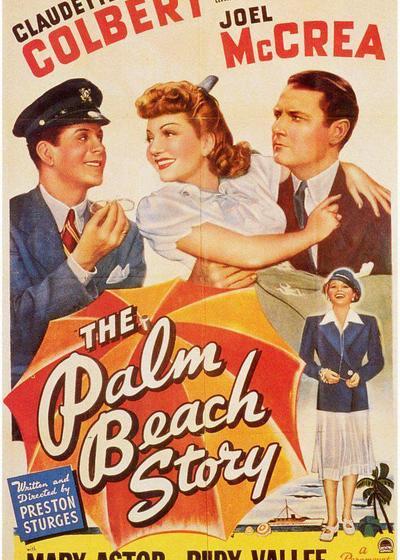 棕榈滩的故事海报
