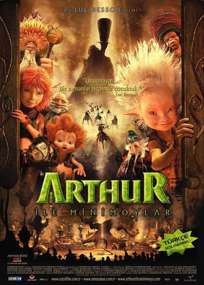 亚瑟和他的迷你王国海报
