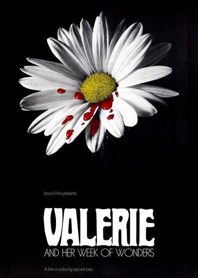 瓦莱莉和她的奇迹一周海报