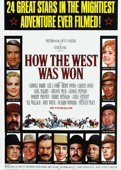 西部开拓史海报