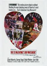 情人节大屠杀海报