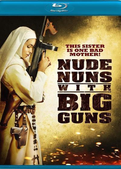 机关枪修女海报