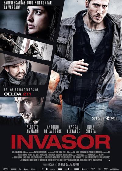 入侵者海报